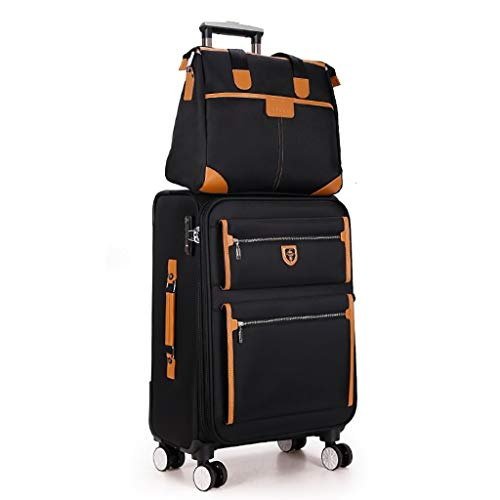Y-longhair Caja de la carretilla 4 Ruedas Maleta de viaje de negocios recorrido al aire libre viaje de alta capacidad de equipaje Lightweght bolsa de arrastre del bolso del tronco del pasajero Box Moc