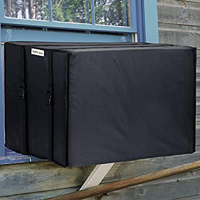 KylinLucky Window Air Conditioner Cover for Outside Units - Winter AC Unit Cover (17W x 12D x 13H inches)