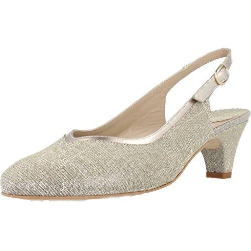 Argenta Zapatos Tacon 27420R Mujer Plateado 37.5 EU
