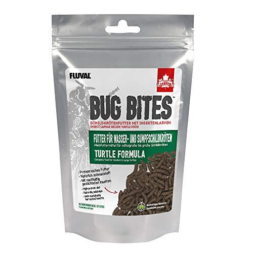 Fluval Bug Bites Alleinfutter für Sumpf- und Wasserschildkröten, M-L, 1er Pack (1 x 100 g)