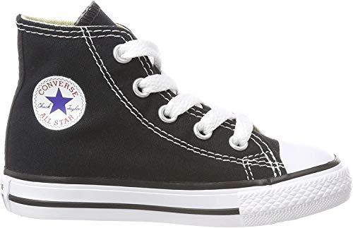Converse Unisex-Kinder CTAS-HI Youth Hohe Sneakers, Schwarz (Black), 35 EU