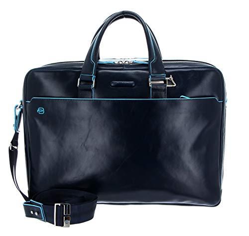 Piquadro Blue Square Aktentasche Leder 43 cm Laptopfach