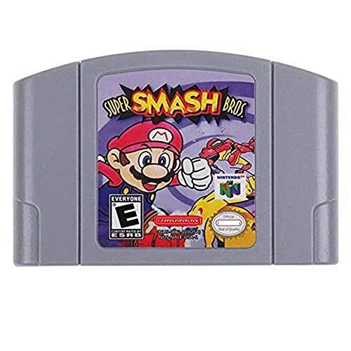 Super Smash Bros Game Card For Nintendo 64 N64 US Version