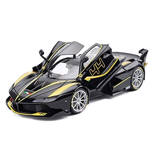 toy Niño, niña, niño, modelo de automóvil Juguetes educativos, modelo de automóvil 1:18 Ferrari Fxxk Simulación Aleación Modelo de automóvil Niño Coche Niños Juguete Coche Modelo de coche Decoración