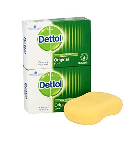 2 unidades de jabón de destillo, 100 g, para limpiar la piel, protector de cuerpo (2)