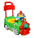 "MURLI SARKAR Baby Safe ""Funny Loco Rider"" Ride-on Low-seat Car Toy Cute Design Pushing Cart with..."