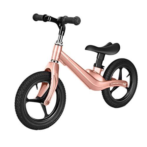 Triciclo Trike Bicicleta for Niños Equilibrio, for Niños Al Aire Libre Ultraligeros Aleación Con Magnesio Y Diapositivas for Principiantes Sin Bicicleta De Entrenamiento Con Pedales 2-6 Años, 3 Colore