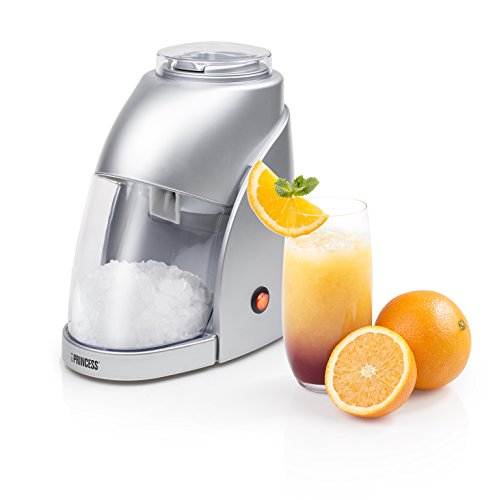 Princess elektrischer Ice Crusher/ Eiscrusher - zerkleinert 300g Eis pro Minute (600ml Behälter)/ mit Ein-/ Ausschalter, 282984