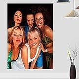 MXIBUN Spice Girls Poster Wand Moderne Drucke Leinwand