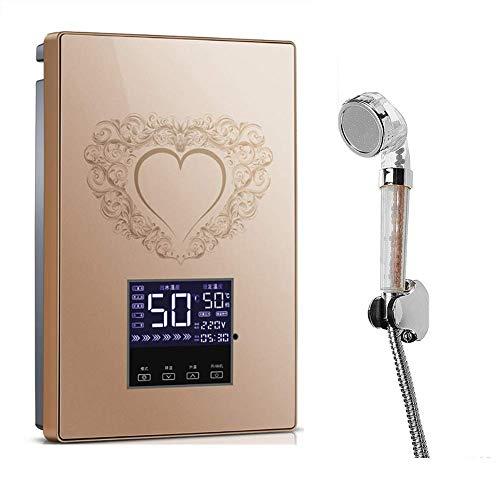 8bayfa Smart Chip Sofortiger elektrischer Durchlauferhitzer, Intelligent konstante Temperatur, Wasserdicht Stromspar Sicherheit, Wasser Isolation