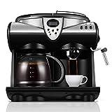 MJYDQ Cafetera - Combinación de Bomba de Espresso y máquina de Goteo con Sistema avanzado de Capuchino