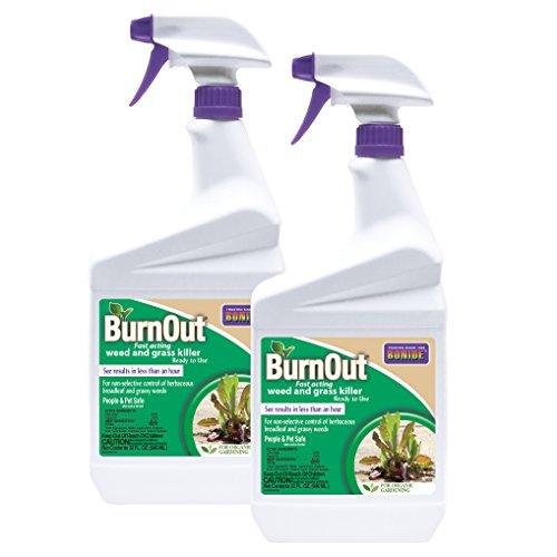 Bonide 74911 Burn-Out 32oz RTU 2-Pack Weed Killer, Brown/A