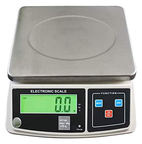 ZBYL High Precision Electronic Scales for Home with LCD Display Multifunction Platform Kitchen Scale Digital Commercial Food Meat Weight Scale 926 (Size : 7.5kg/0.2g)
