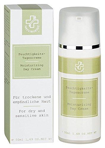 Hagina Feuchtigkeits-Tagescreme 50ml, leichte, schnell einziehende Creme mit wertvollen Inhaltsstoffen für die empfindliche und extrem trockene Haut