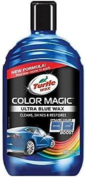 Turtle Wax Colour Magic Ultra Blue Car Polish 500ml: image