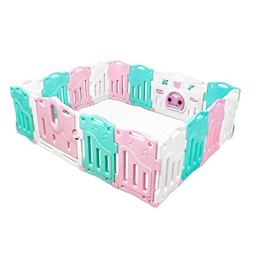 Buy Discount Baby Fence, Children's Indoor Game Activity Center, Baby Crawling Toddler Fence, Safe M...