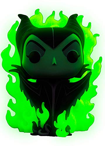 FUNKO [POP!] DISNEY VILLAINS - MALEFICENT IN FLAMES CHASE VINYL FIGURE #232
