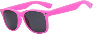 80's Style Classic Vintage Sunglasses Colored Frame Uv Protection for Mens or Womens