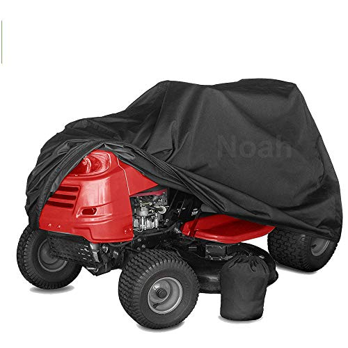 """RockyMRanger Delux Mower Cover, Heavy Duty 600D Marine Grade Fabric Lawn Universal Fit (Lawn Mower Cover Up to 54"""") YGM1H"""