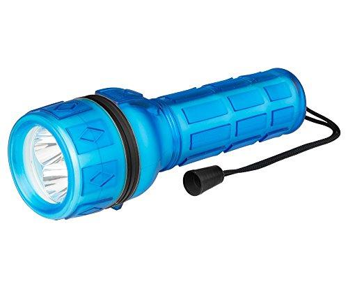 Poly Pool pp3151Taschenlampe LED Notebook Helligkeit 18Lumen IP44mit praktischem Griff rutschfest und Zugband Armbanduhr