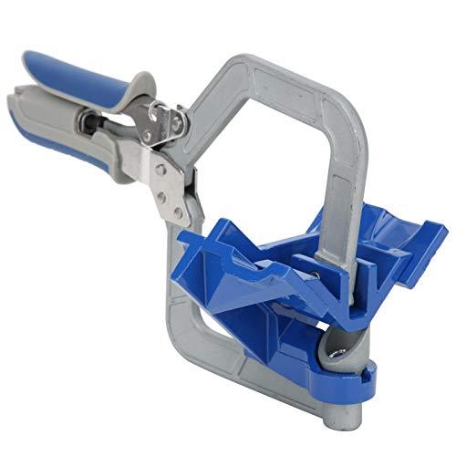 Zhat Abrazadera de ángulo Recto, Clip de Esquina, Herramienta de fijación rápida para carpintería para Carpintero de Marcos de Fotos(Right Angle Clip)