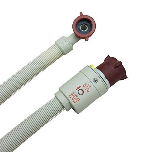 Aquastopschlauch Sicherheitszulaufschlauch 2796 Schlauchanschluss 3/4 Zoll für Waschmaschine und Geschirrspüler Universal Zulaufschlauch Aquastopp Wasserstopp für Spülmaschine, Größe: 2,0m