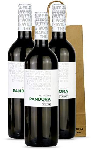 Weisswein trocken Cuvee Sauvignon Blanc - Roditis aus Griechenland   mit Geschenk Tasche 3x 750ml