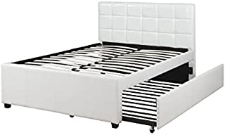 Poundex Bed with Trundle, Twin,