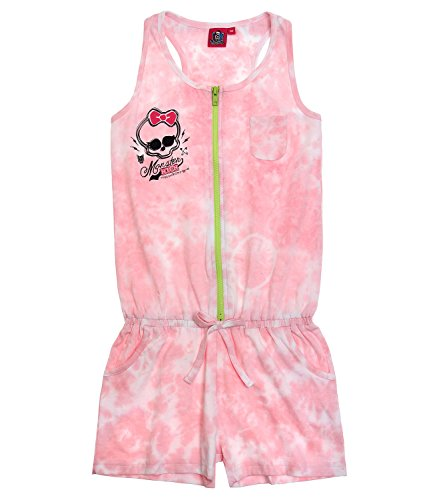 Monster High meisjes jumpsuit - roze - 152