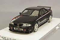 Make Up アイドロン EIDOLON 1/43 日産 スカイライン GTR BCNR33 ニスモ Rtune ブラック EM435C R33