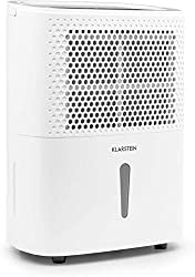 KLARSTEIN DryFy 10 - dehumidifier, dehumidifier, 240 Watt, 10 L / 24h, for 15-20 m² (up to 50 m³) room size, silent mode, quiet, white