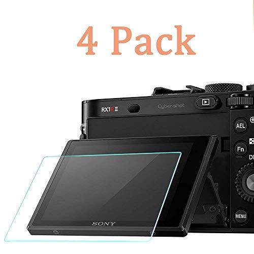 Displayschutzfolie für Sony RX100VI RX100III RX100II RX100 IV V RX100VI (2018RX 1R Kamera, Mankery LCD Anti-Kratzer, Anti-Fingerabdruck, ultraklar, 9H, gehärtetes Glas