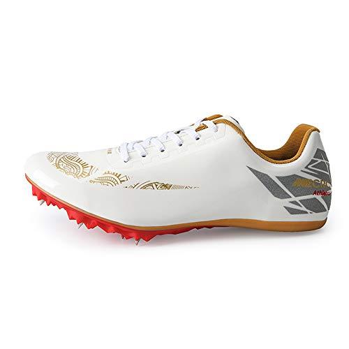 GLEYDY Zapatillas de Atletismo Unisex Adulto 8 Zapatos con Clavos Zapatillas Deportivas Zapatos De Entrenamiento Antideslizantes Zapatillas De Atletismo De Salto