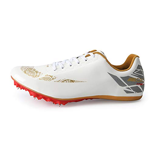 Gleydy Zapatillas De Atletismo Unisex Adulto 8 Zapatos Con Clavos Zapatillas Deportivas Zapatos De...