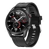 Gymqian Smart Watch Men L19 Bluetooth Smartwatch Diy Dials Super Long Battery Life Smart Clock para Android Ios Pk L13 Dt95 Gt2, B Desgaste diario/C