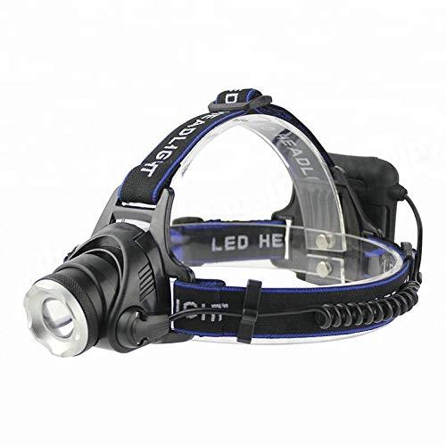 Kopflicht Led-scheinwerfer 3-modus-zoom-scheinwerfer High Power 3000lm Stirnlampe Aa Battery Hunting Taschenlampe