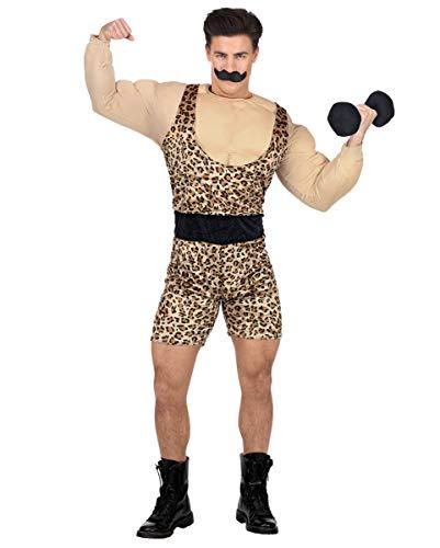 Horror-Shop Starker Mann Zirkus Kostüm - Faschingskostüm für Mottopartys M/L