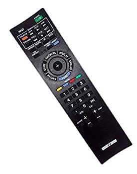 Replaced Remote Control Compatible for Sony KDL55EX501 KDL-22BX300 KDL32EX305 KDL40EX710 KDL-52EX700 KDL-46EX713 KDL-46TVBDPKG KDL55EX710 KDL-40EX400 KDL-46EX405 KDL-32EX707 Bravia LCD LED HD TV