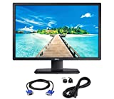 Dell U2412M UltraSharp 24 Inch LED Backlit Monitor, VGA, Display Port, DVD-D Port, Audio DC Out, 16.7 Million Colors, 178 Degree Viewing Angle, Vertical Horizontal Refresh Rate : 60/80 (Renewed)