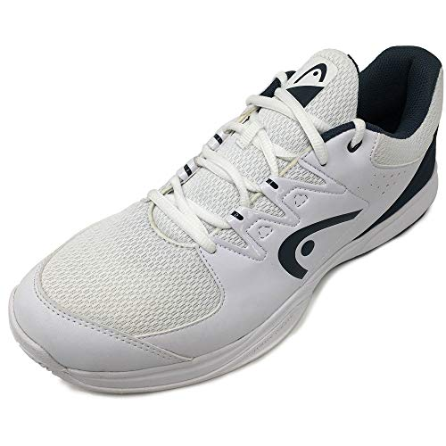 Head Brazer 2.0, Zapatillas de Tenis Hombre, Blanco (White/Midnight Navy Whmn), 39...