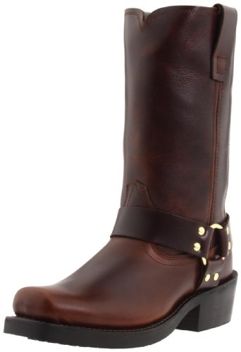 Durango mens Db514 motorcycle boots, Rubbed Brown, 7.5 Wide US
