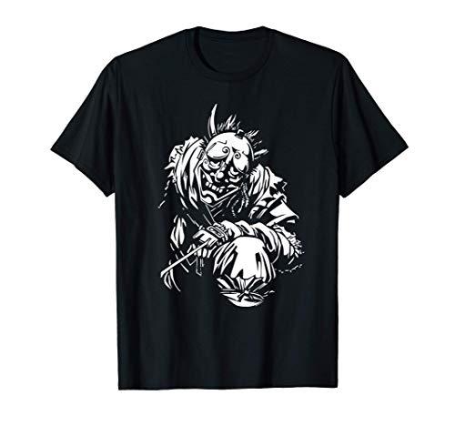 Ninja con máscara tradicional japonesa Camiseta