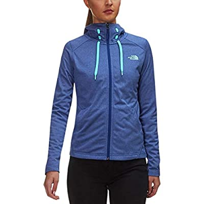 The North Face Women's Tech Mezzaluna Hoodie - Sodalite Blue Heather - XL