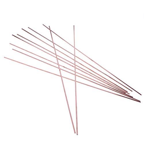 WYanHua-varilla de soldadura Barras de soldadura de soldadura de 10 unids, para herramientas de soldadura, bodas de soldadura de oro de oro de latón cobre k dorado platino joyería, soldador para solda