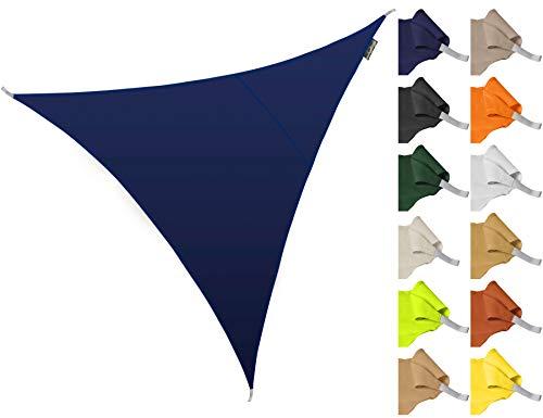 Kookaburra Toldo Vela de Sombra Para Jardín - Resistente al Agua - 5m Triangular Azul