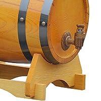 オーク樽真に木製の樽内部ベーキングオーク樽の保管または熟成ワイン&スピリッツ&生ビール (Color : 01-5L)