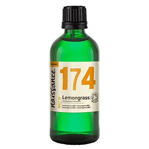 Naissance Lemongrass BIO - Aceite Esencial 100% Puro - Certificado Ecológico - 100ml