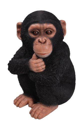 Vivid Arts Bambino Scimpanzé, Ornamento Resina