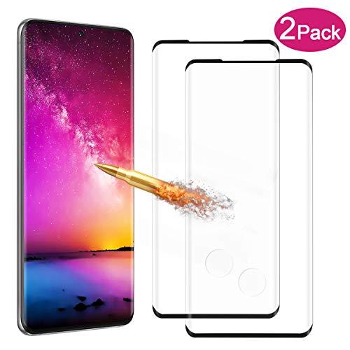 2 pezzi Vetro Temperato per Samsung Galaxy S20 Pellicola Protettiva Durezza 9H Tocco Sensibile Vetro Protezione Facile da Installare Screen...