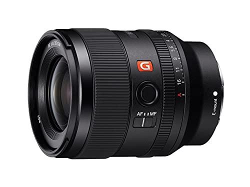 Sony SEL-35F14GM - Vollformat E-Mount Objektiv FE 35mm F1.4 GM (Premium G Master Objektiv), Schwarz